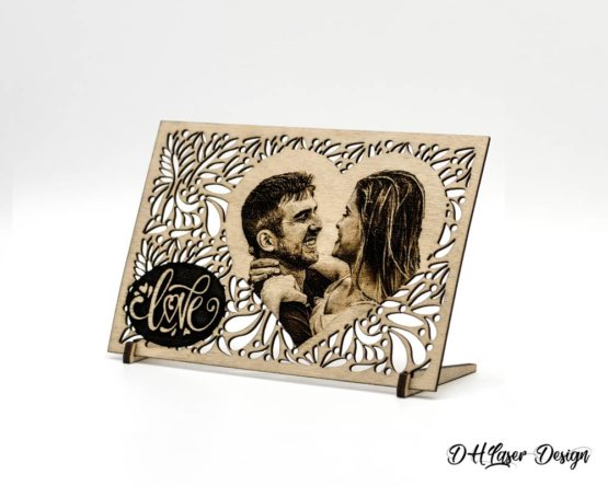 stand cadeau photo couple