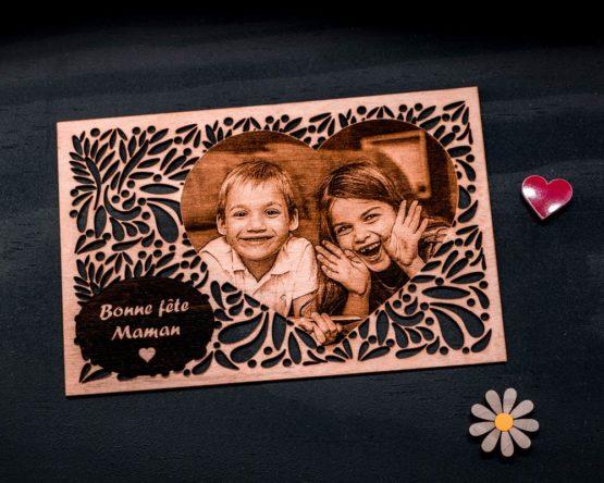 Carte photo fête des mères