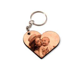 porte clé maman bébé